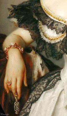 Franz Xavier Winterhalter Portrait of a lady