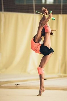 Rhythmic Gymnastics, Rhythmic Gymnast, Flexibility, Gymnastics, Ribbon, Dance, Athlete, Dancer, Sport