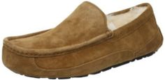 UGG Men's Ascot Slipper, Chestnut, 10 M US | You're not psychic, but you do know he really needs a quality pair of slippers. That's some cool intuition.