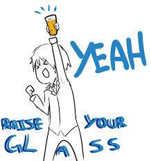 To 2015, I Raise my Glass and Accept the Challenge - Bring It!