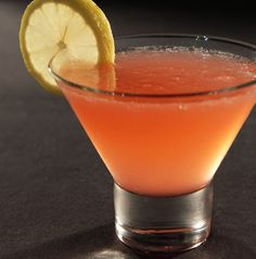Red Lotus at RA Sushi - Absolut Ruby Red vodka, X-Rated, pink grapefruit & other fresh juices - sweet, tart & tasty