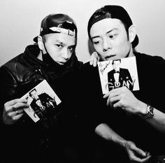 Simon D & Beenzino. #rapper #underground