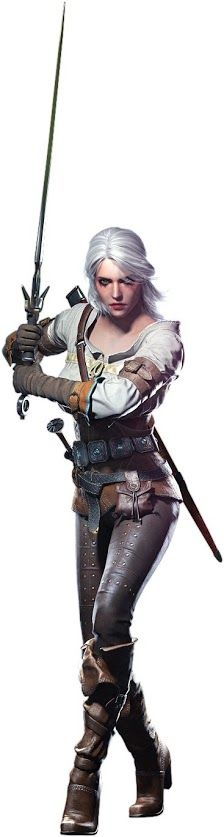 The Witcher 3 - Ciri by IvanCEs The look of determination is clear! I love strong female role-models and characters! 3d Fantasy, Fantasy Warrior, Fantasy Women, Medieval Fantasy, Fantasy Girl, Fantasy Artwork, Warrior Princess, Warrior Girl, Warrior Pose