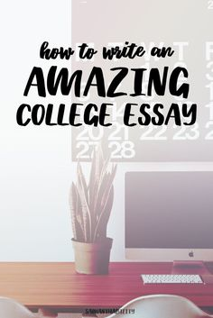 college essay writing tip