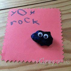 You Rock kid-made Teacher Appreciation gift