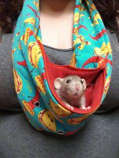 Sugar Glider Small Animal Rat Snuggle Sack Hedgehog Bonding Pouch Guinea Pig Halloween Snuggle Sack