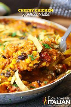 ... Foods on Pinterest | Chicken Enchiladas, Pork Chops and Casseroles