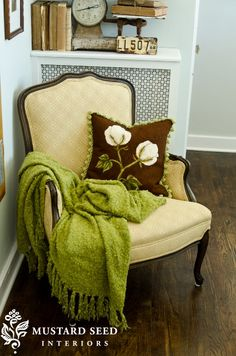 """Miss Mustard Seed----""""I LOVE this chair"""""""