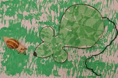 souris verte (collage papier déchiré) Ps, Plant Leaves, Collage, Train, Album, Plants, Painting, Classic Theme, Nursery Rhymes