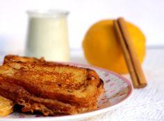 Carrot Cake: Torrijas de Nocilla Blanca
