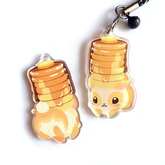 Hey, I found this really awesome Etsy listing at https://www.etsy.com/listing/461001774/bunny-pancakes-acrylic-charm-double