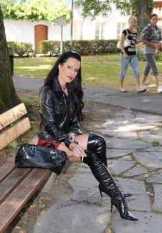 Leather Smoking