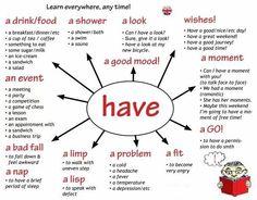Having...