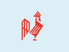 Chicken / Rooster designed by matthieumartigny. Connect with them on Dribbble; Chicken Tattoo, Chicken Logo, Pet Branding, Duck Logo, 3d Printing Business, Galo, Geometric Logo, Animal Logo, Art Logo