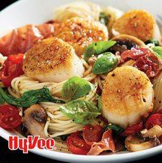 Seared Scallops with Angel Hair Pasta is one of those recipes you can serve for a weeknight dinner or when company is coming over and you need a little something special.