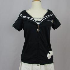 Liz Lisa/Tralala Sailor Hoodie NWT
