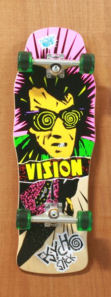 """Vision 30"""" Psycho Stick Natural Skateboard Complete-oh man I knew a kid that had one of these, I was always so jealous"""