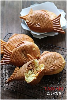 Japanese Fish pancakes