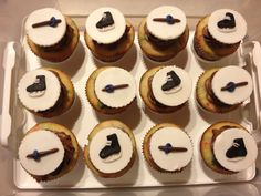 Ringette cupcakes I Am Game, Cupcakes, Tasty, Smile, Birthday, Awesome, Fitness, Quotes, Desserts