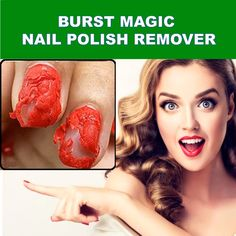 💅Magic Nail Polish Remover No more soaking in acetone. No more sanding and filing them off! Just apply over nails and peel off! Super simple and easy! 💅This is a REVOLUTIONARY nail polish Remover that makes it easy to remove in the nail removal proce Cute Acrylic Nail Designs, Best Nail Art Designs, Hot Pink Nails, Red Nails, Simple Nail Art Videos, Nail Logo, Natural Nail Designs, Nail Remover, Magic Nails