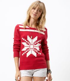 Who says holiday sweaters have to be ugly? I love this!