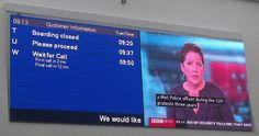 Full Colour LED Video display installed in Eurotunnel's retail area to keep public informed on departure times and news information. The display is used to show Departure times, images, videos and general messages and communicates via TCP/IP.