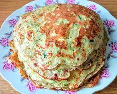 Cukkini palacsinta   Kilecz Szilvia Mária receptje - Cookpad receptek Guacamole, Pancakes, Gluten, Vegan, Healthy, Breakfast, Ethnic Recipes, Food, Diet