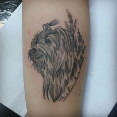 Dog tattoo @priitattoo