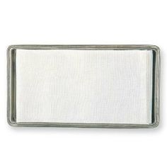 """Match Italian Pewter Guest Towel Tray by Match Pewter. $174.00. Guest Towel Tray by Match Pewter L. 9.7"""" x W5.3"""""""