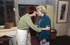 Carol and Betty White