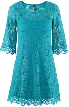 H & M Dress - Turquoise Lace