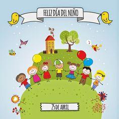 El día del niño en Colombia ~ NATÚ                                                                                                                                                     Más