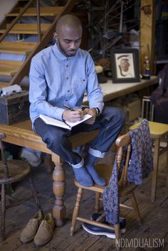 Workwear, Blue Shirt