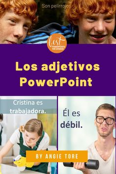 Teach students the Spanish descriptive adjectives with these engaging resources. Curriculum includes:118-slide illustrated PowerPoint with captivating visuals, Los adjetivos Interactive Notebook and Google Drive Activities, student handouts of vocabulary, worksheets, and digital versions. See what teachers are saying about them: I love these PowerPoints! They are so in-depth and engaging! / Totally thorough and beautifully put-together. / Absolutely AWESOME resource! Get it now…