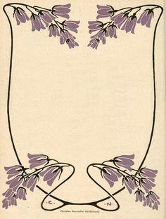 Illustration by Christian Neureuther, Jugend magazine, 1902.