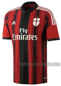 AC Milan 2014/15 adidas Home Kit