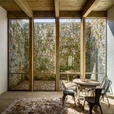 CC+Arquitectos+builds+timber-framed+Santana+House+in+Mexican+woodland
