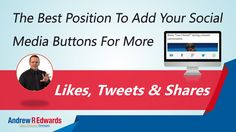 Website Social Sharing Buttons Does Position Increase Shares?