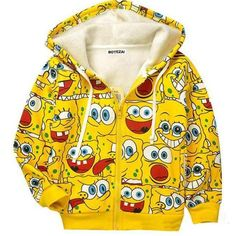 You know you want to buy this  New 2017 Children's cartoon jacket SpongeBob thick Hoodies sweatshirts  http://www.autasticshop.com/products/new-2017-childrens-cartoon-jacket-baby-kids-spongebob-thick-hoodies-sweatshirts?utm_campaign=crowdfire&utm_content=crowdfire&utm_medium=social&utm_source=pinterest