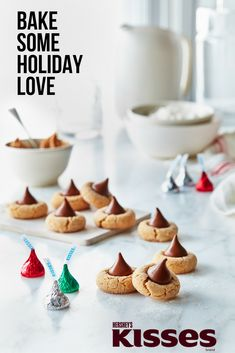 Kissmas has arrived! Spread a little joy with fun and creative recipes with HERSHEY'S KISSES Chocolates!