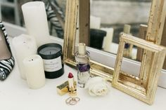 Kit Lee delivers a chic DIY project: the gold-leaf antique frame