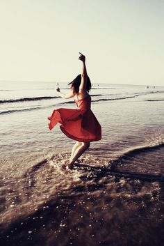 dresses on the beach