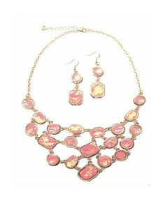 Pink Essence Necklace by JewelMint.com, $36