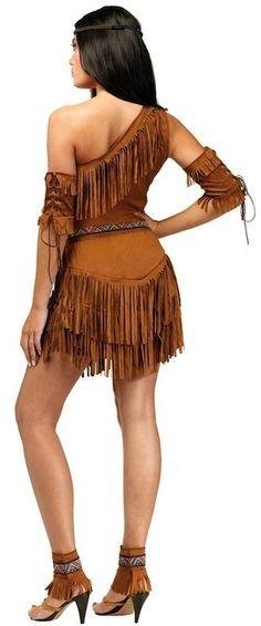 Pow WOW Native American Pocahontas Indian Women Costume   eBay