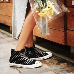 Fancy - Converse Chuck Taylor All Star Foil Polka Dots Hi