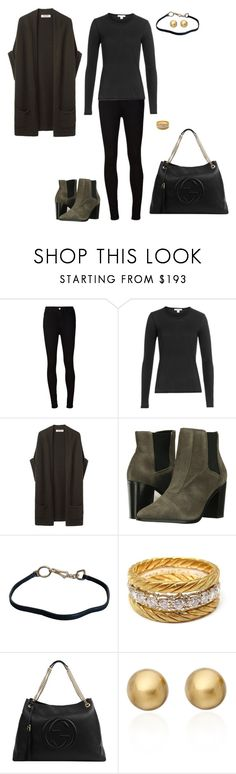 """Sem título #2111"" by analuli on Polyvore featuring moda, AG Adriano Goldschmied, James Perse, Organic by John Patrick, Schutz, Prada, Buccellati, Gucci e Astley Clarke"