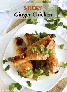Sticky Ginger Chicken