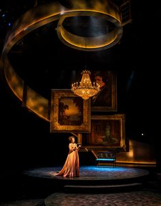Sense and Sensibility: The Musical. Chicago Shakespeare Theatre. Scenic design by Kevin Depinet.