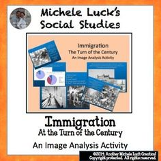 $ This PowerPoint introduces the topic of immigration in the late 1800s into the turn of the century.  With pictures, charts, and statistics, students are presented the facts through spiraling questions for them to answer on the screen.  In response to rating, Teacher discussion points are provided at the bottom of each slide (in notes section).