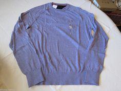 Men's Tommy Hilfiger long sleeve sweater shirt 7842269 Mistic Lavender 554 XL